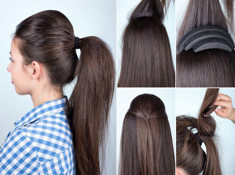 بالصور تسريحات شعر بسيطة , سرحي شعرك تسريحات بسيطة و رقيقة 3855 14
