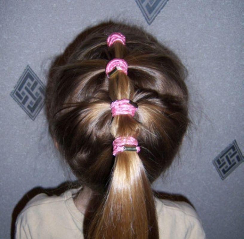 بالصور تسريحات شعر بسيطة , سرحي شعرك تسريحات بسيطة و رقيقة 3855 18