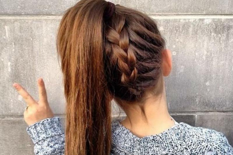 بالصور تسريحات شعر بسيطة , سرحي شعرك تسريحات بسيطة و رقيقة 3855 2