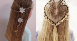 بالصور تسريحات شعر بسيطة , سرحي شعرك تسريحات بسيطة و رقيقة 3855 20 310x165