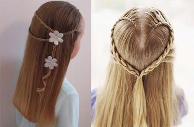 صور تسريحات شعر بسيطة , سرحي شعرك تسريحات بسيطة و رقيقة