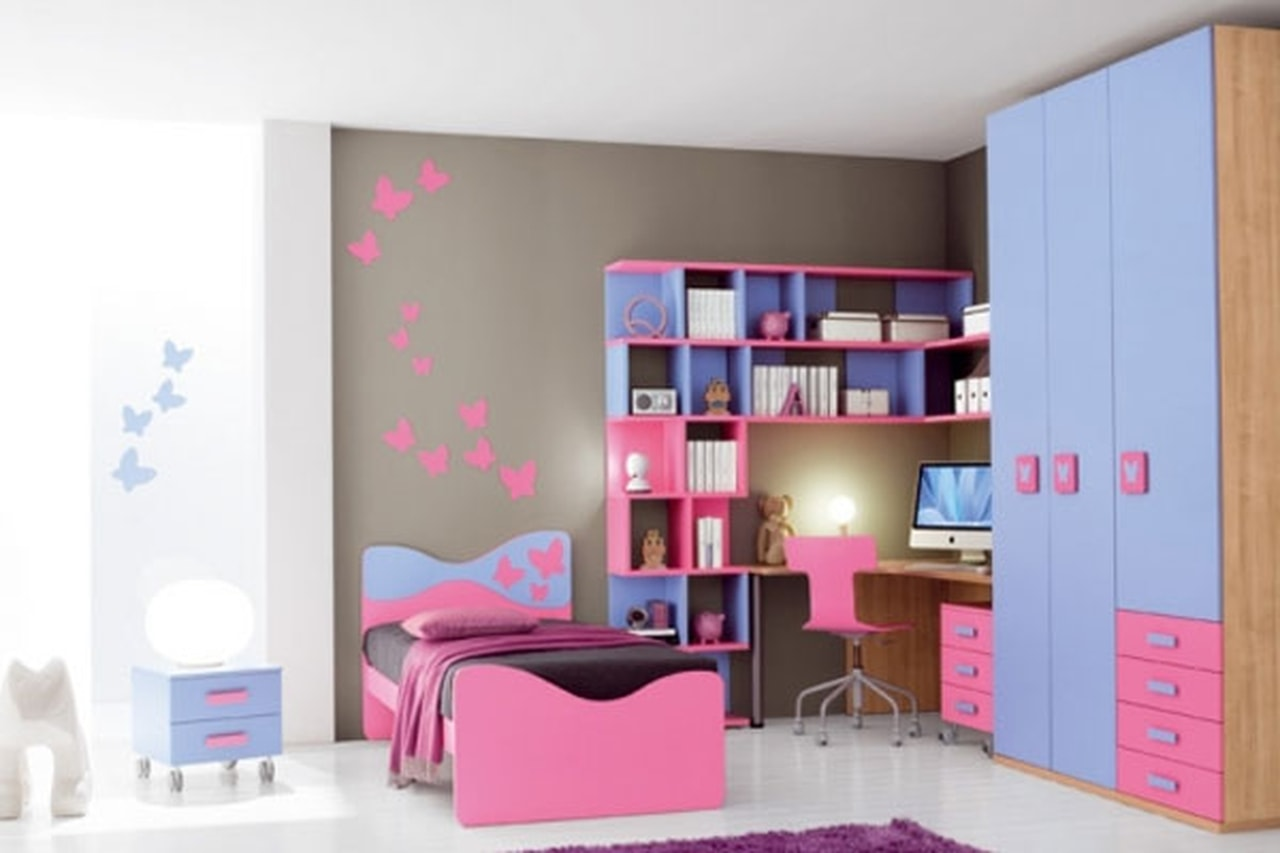 بالصور غرف نوم اطفال بنات , صور غرف نوم اطفال بنات جديدة و جميلة 3989 14