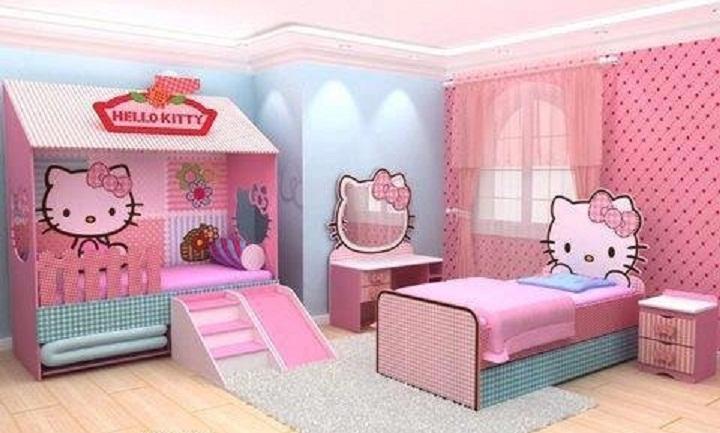 بالصور غرف نوم اطفال بنات , صور غرف نوم اطفال بنات جديدة و جميلة 3989 4