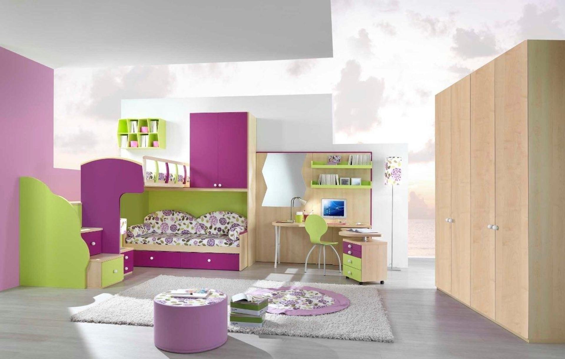 بالصور غرف نوم اطفال بنات , صور غرف نوم اطفال بنات جديدة و جميلة 3989 6