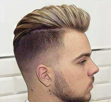 بالصور اجمل قصات الشعر للرجال , قصات شعر رجالية جديدة و مختلفة 4053 3