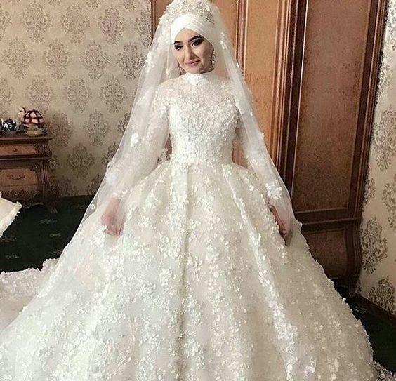 صوره فساتين زفاف فخمه , شاهد افخم و اجمل فساتين زفاف
