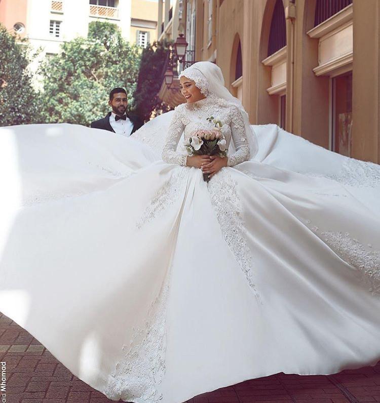 بالصور فساتين زفاف فخمه , شاهد افخم و اجمل فساتين زفاف 4107 13
