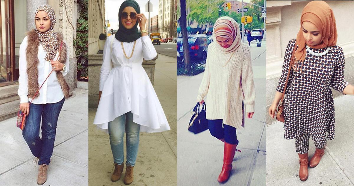 بالصور اخر صيحات الموضة للمحجبات , تعرف على اجدد صيحات الموضة للمحجبات 4234 1