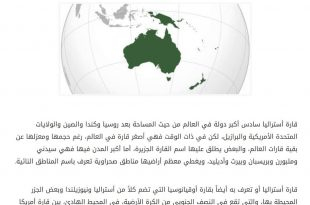 بالصور اصغر قارات العالم , تعرف على اصغر قارات العالم 4886 3 310x205