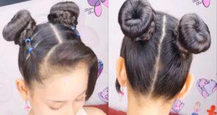 بالصور تسريحات شعر للاطفال , تسريحات شعر سهلة للبنات الصغار 154 3 310x165
