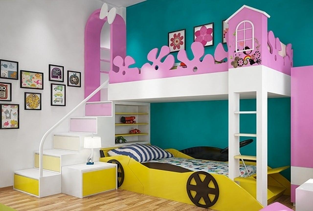 بالصور غرف نوم للاطفال , احدث ديكورات غرف اطفال 4573 1