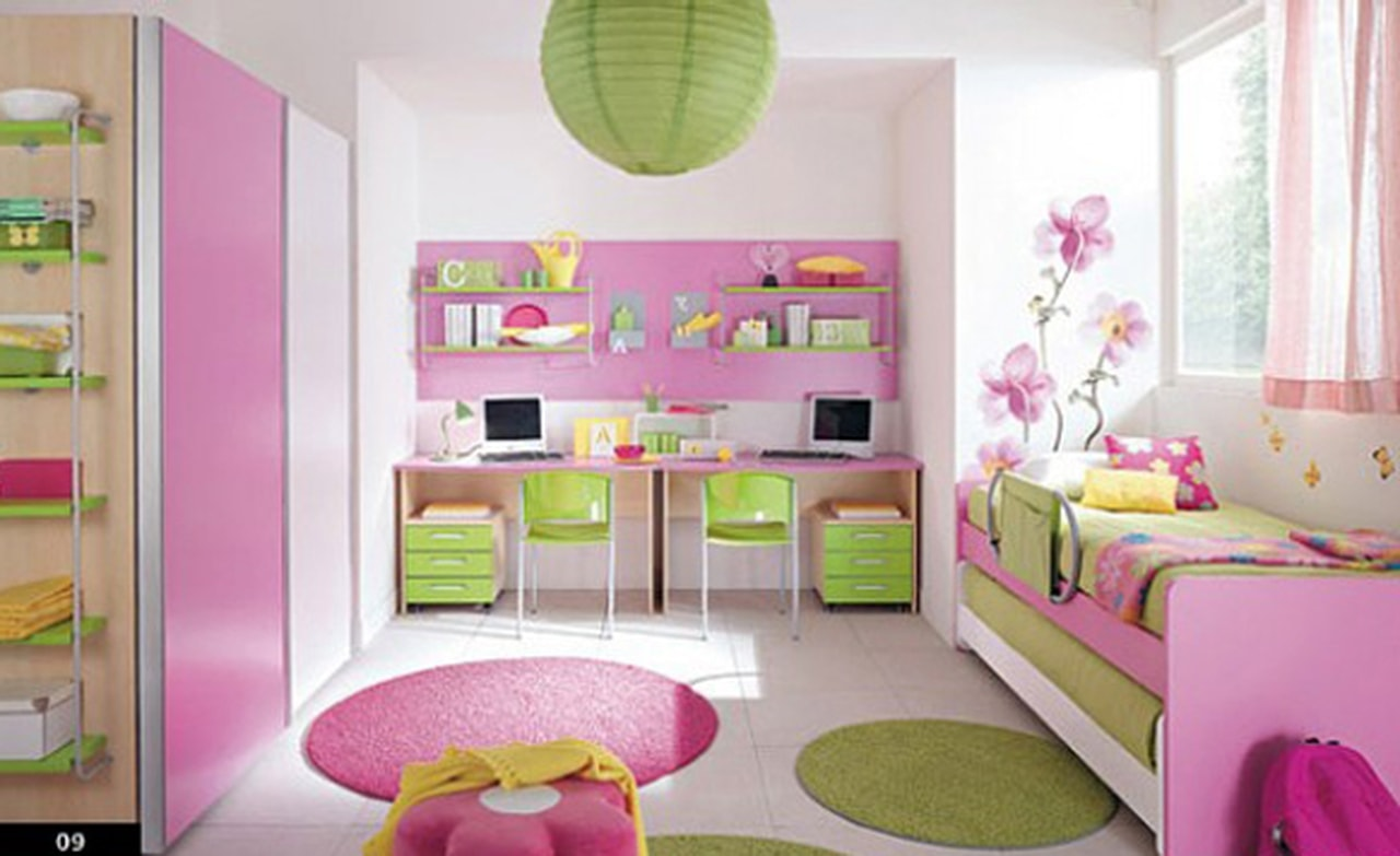 بالصور غرف نوم للاطفال , احدث ديكورات غرف اطفال 4573 6