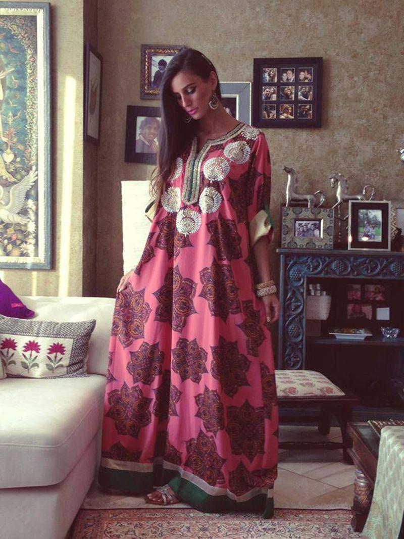 صور جلابيات كويتيه , ملابس كويتية اخر صيحة