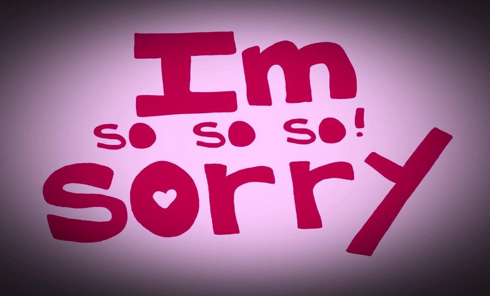 بالصور كلام اعتذار للحبيب , صور عليها عبارات اعتذار 74 10