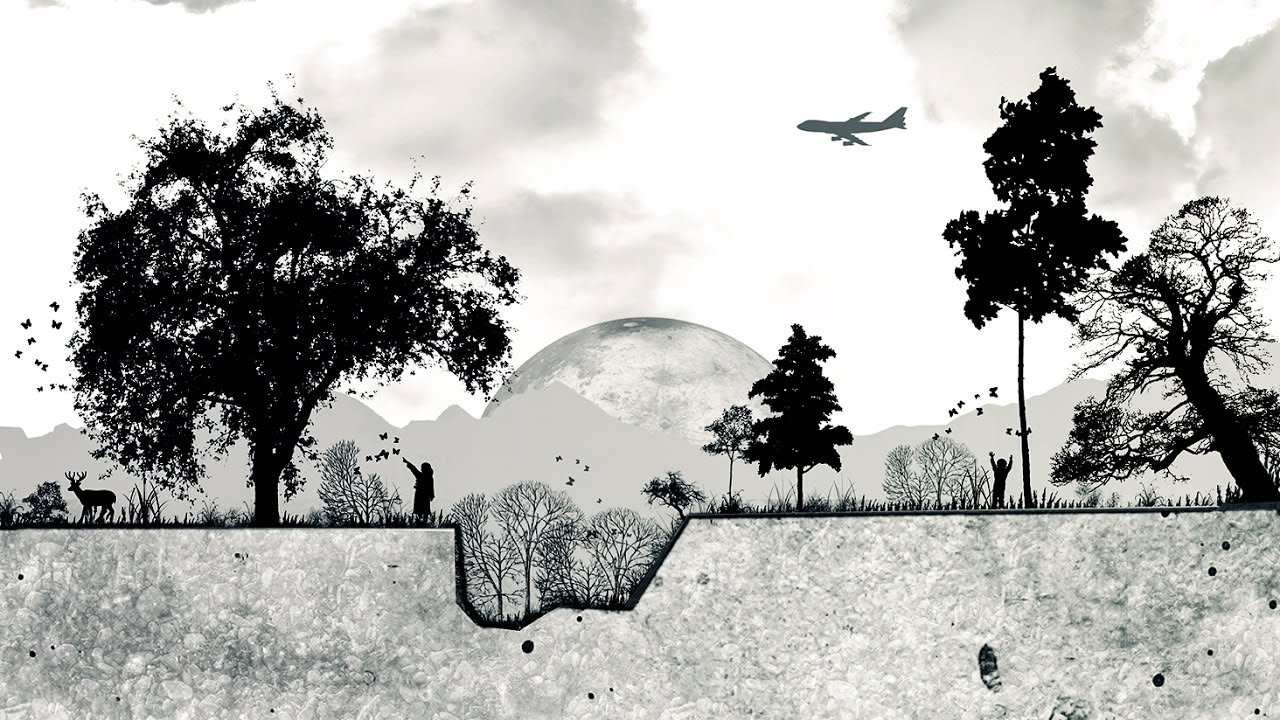بالصور رسم طبيعة بالرصاص , اجمل الرسومات بالرصاص للمناظر الطبيعية 11011 10