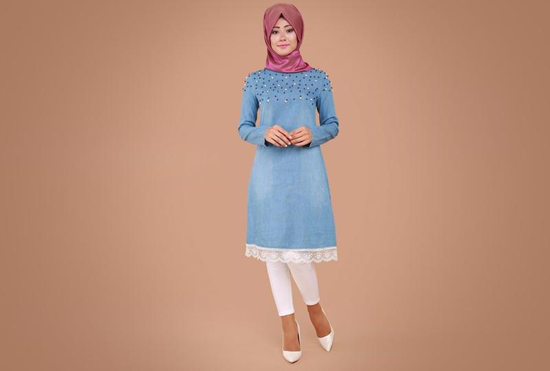 بالصور ملابس محجبات , اشيك موديلات ملابس المحجبات الكاجوال 5718 13