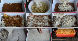 صور طريقة عمل المكرونة بالبشاميل بالصور , اسهل طريقة لعمل المكرونة بالبشاميل في المنزل