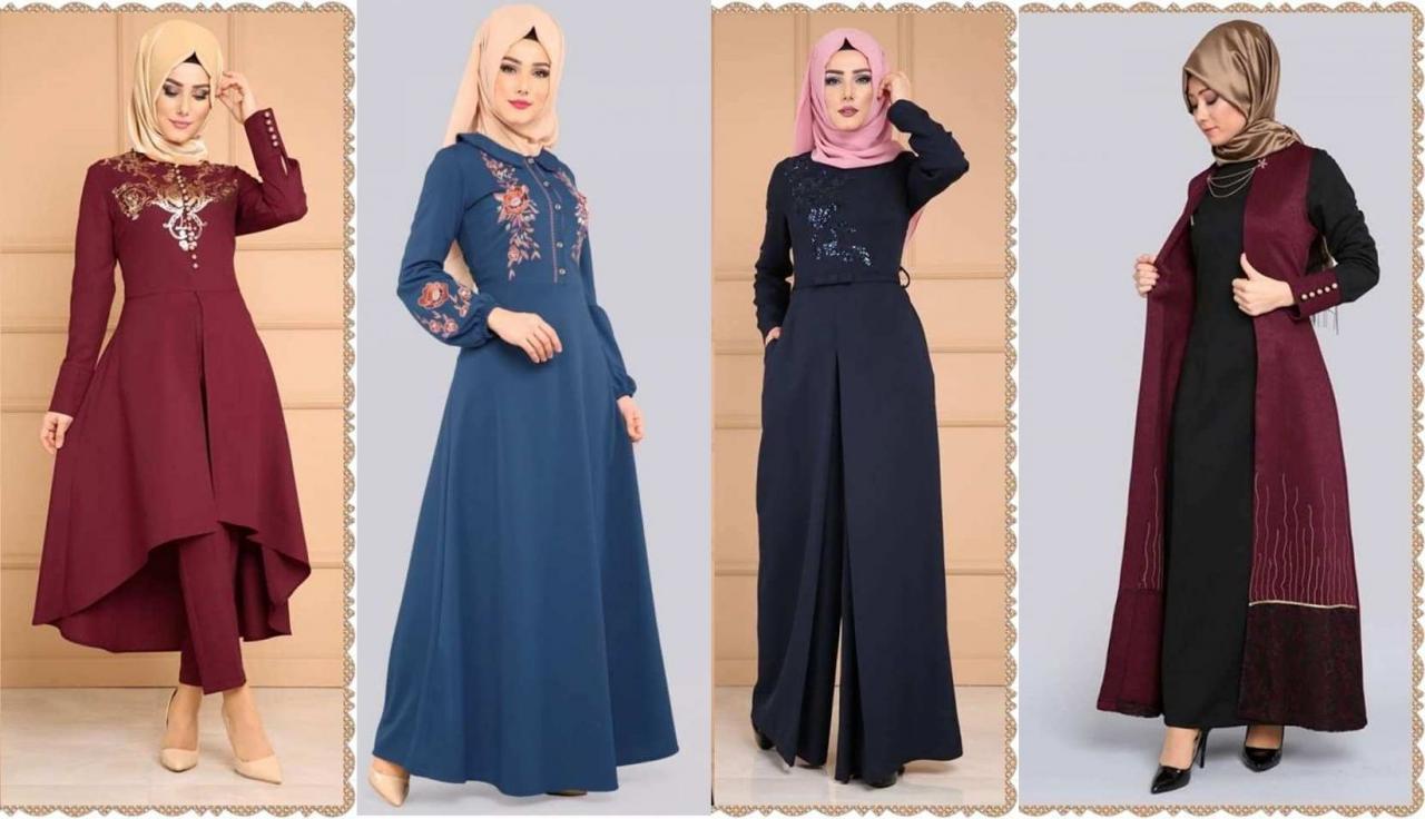 صور حجابات تركية 2019 , تالقي باحدث لفات حجاب تركي 2019