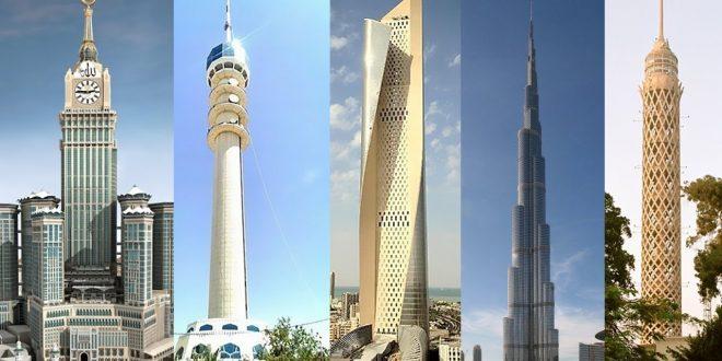 صورة اطول برج في العالم , واوا شفت ابراج طويله لكن مثل هذا البرج ماشفت