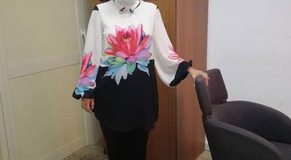 صور ازياء دعاء فاروق , ملابس للانيقة دعاء فاروق