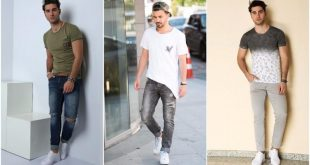 صورة موضة صيف 2019 للشباب , ملابس جديدة شيك للشباب