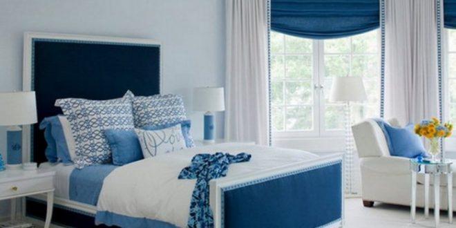 صور غرف نوم باللون الازرق , غرف لعشاق الازرق