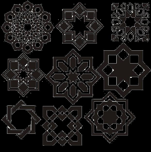 خطوط عربية مزخرفة للتصميم