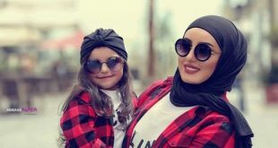 صور ام مع ابنتها , ملابس الام والبنت