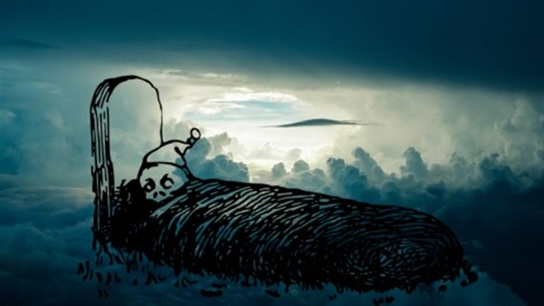 صورة النوم مع الميت في المنام , تفسير حلم الميت