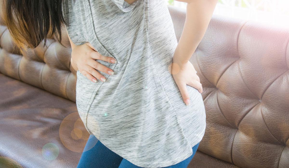 صورة الم المهبل من اعراض الحمل , وجع المهبل خلال الحمل