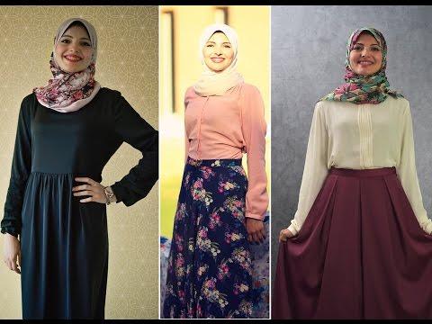 صورة اجمل ملابس للمحجبات , ازياء مختارة للمحجبات 9975 1