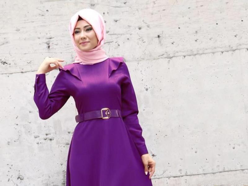 صورة اجمل ملابس للمحجبات , ازياء مختارة للمحجبات 9975 2