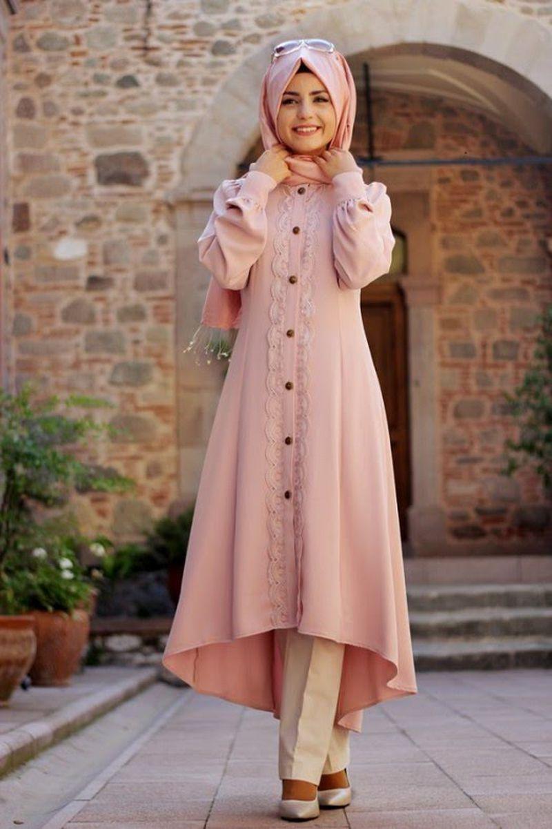 صورة اجمل ملابس للمحجبات , ازياء مختارة للمحجبات 9975 3