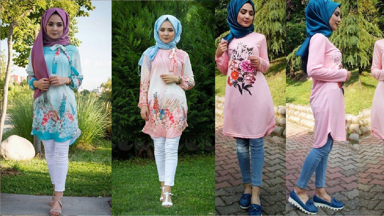 صورة اجمل ملابس للمحجبات , ازياء مختارة للمحجبات 9975 5