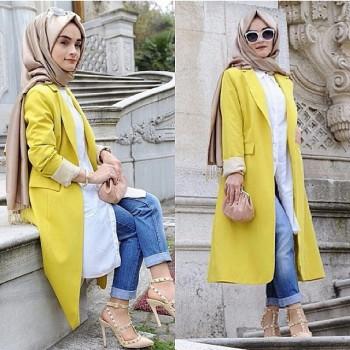 صورة اجمل ملابس للمحجبات , ازياء مختارة للمحجبات 9975 7