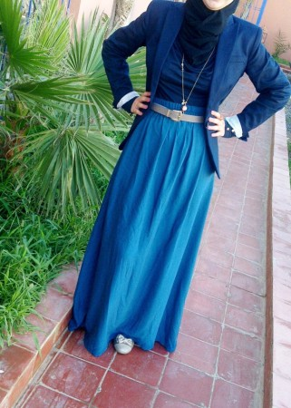 صورة اجمل ملابس للمحجبات , ازياء مختارة للمحجبات 9975 8
