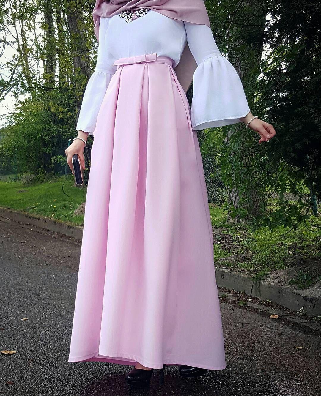 صورة اجمل ملابس للمحجبات , ازياء مختارة للمحجبات 9975 9