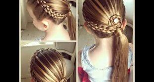 صور اجمل تسريحات الشعر للاطفال , تعرفي على احدث تسريحات الشعر لاطفالك