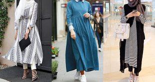صور ملابس محجبة 2019 , موضة 2019 للمحجبات