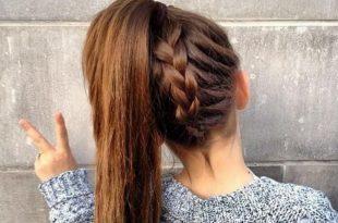 صور تسريح شعر البنات الصغار , تسريحات شعر جديدة مختلفة للبنات الصغار