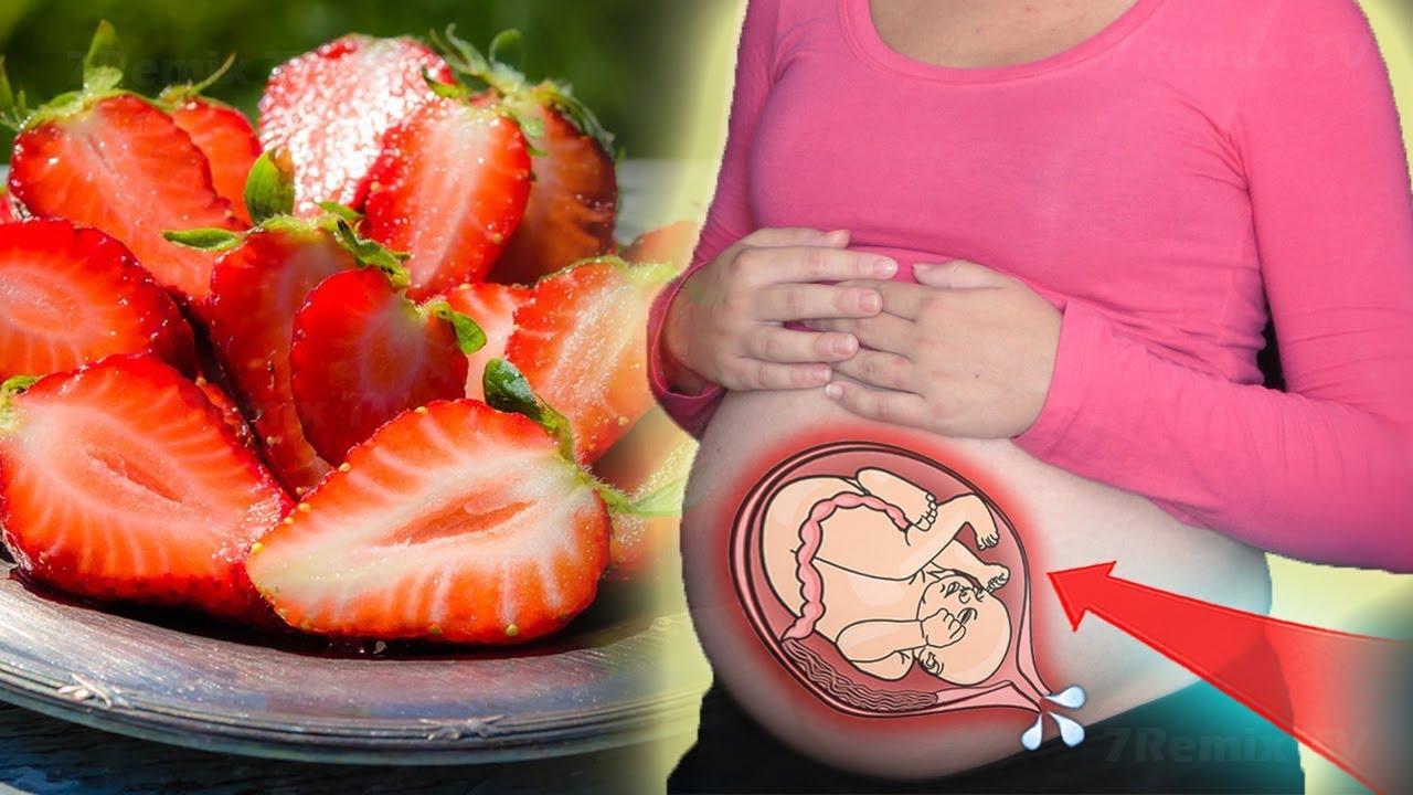 فوائد عصير الفراوله للحامل