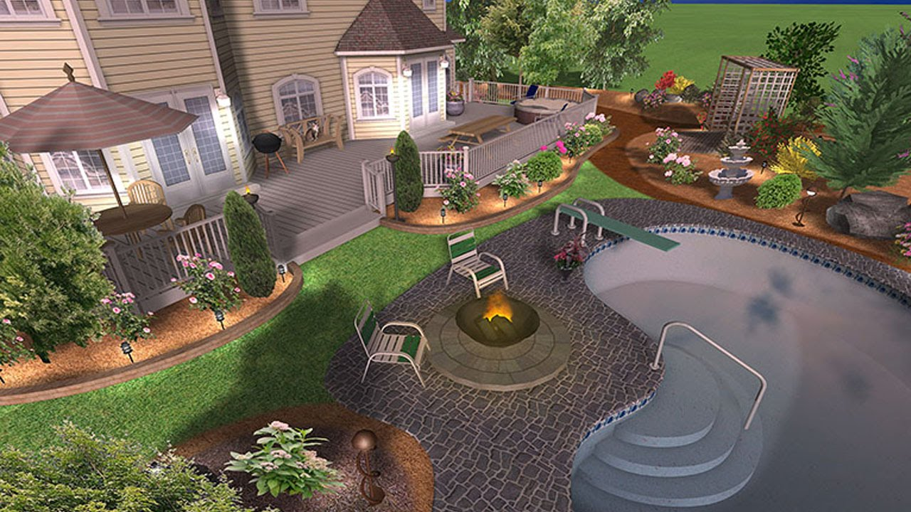 صورة تنسيق حدائق بالقصيم , حدائق فلل صغيرة
