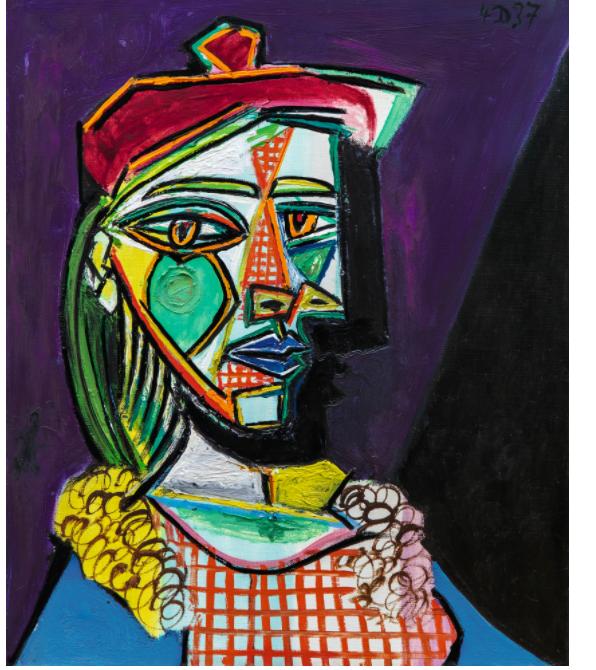 صور لوحات بيكاسو واسمائها , مواصفات رسومات بيكاسو