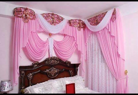 صورة تاج سرير غرفة النوم , اكسسوارات غرفة نوم العروسة