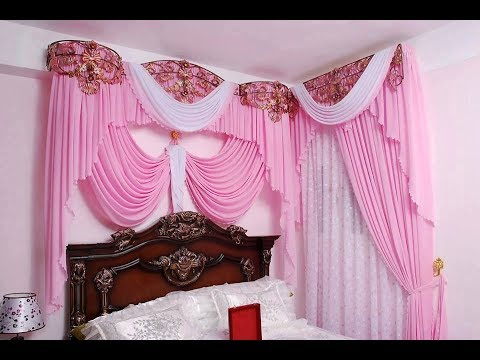 صور تاج سرير غرفة النوم , اكسسوارات غرفة نوم العروسة