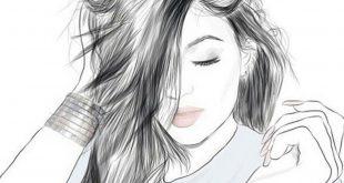 صور رسم بنات كيوت , صور رسومات بنات جميلة جدا