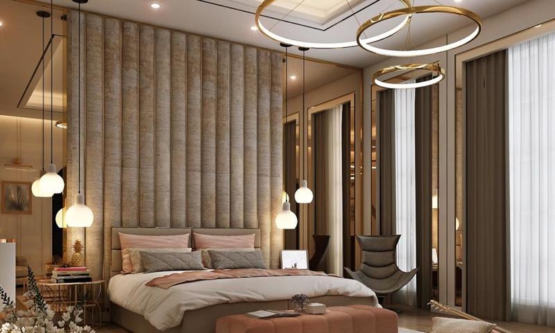 صورة ديكورات غرف النوم الرئيسية , غرف نوم ساحرة الجمال