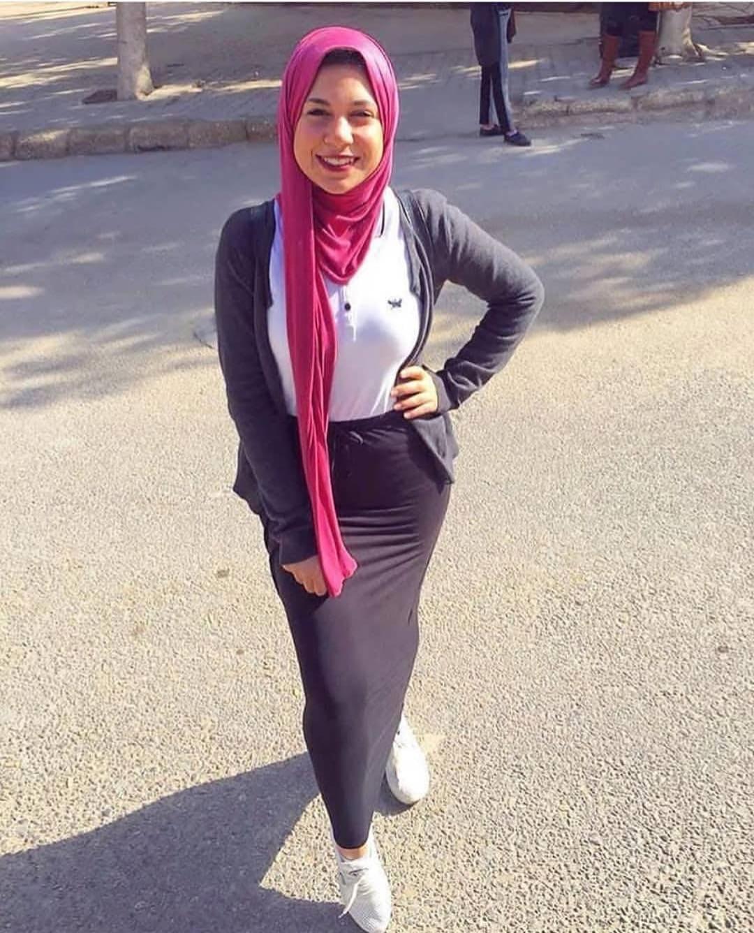 صورة صور بنات محجبات مراهقات , حجاب للمراهقات على الموضة 2019 روعة