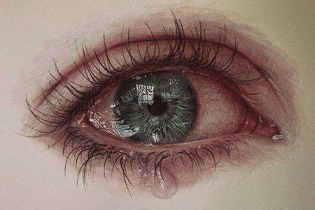 صورة صور عيون تبكي , حزن ودموع وعيون باكيه