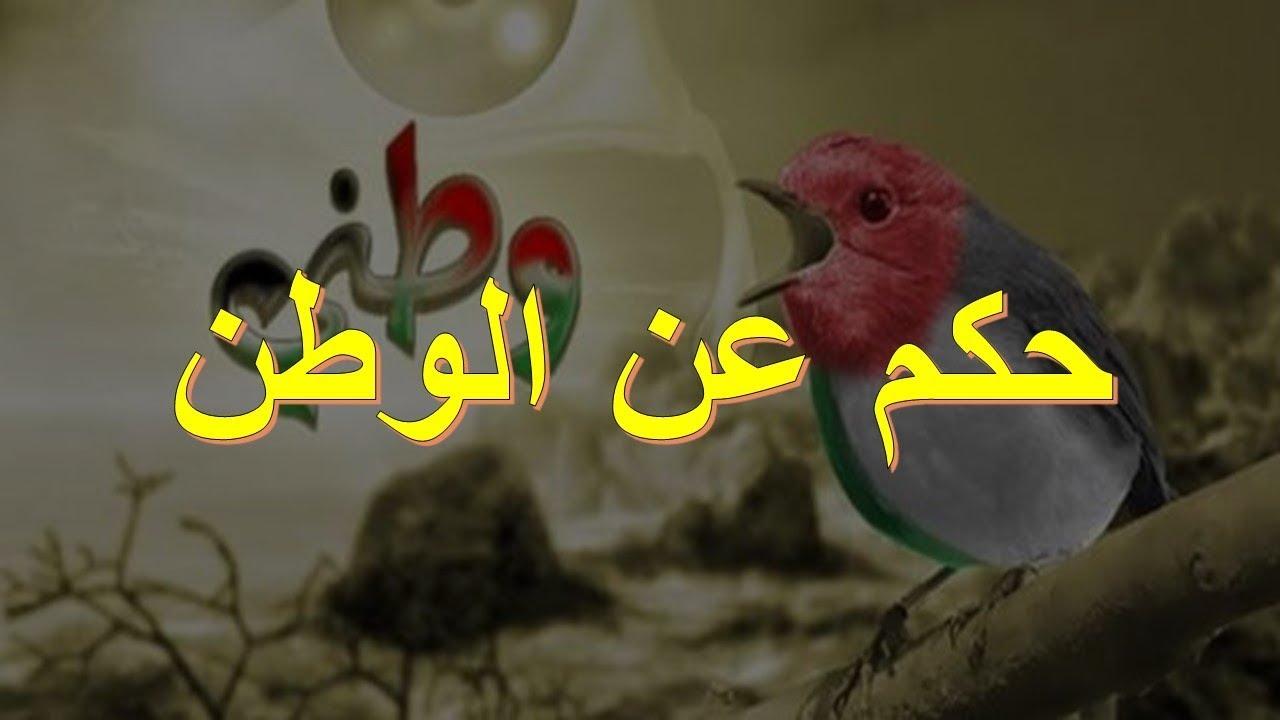 صورة حكم عن الوطن , حب الوطن هو روح وحياة وحنين وانتماء